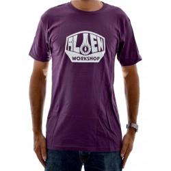 T-Shirt Alien Workshop Logo - Eggplant
