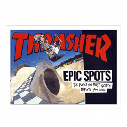 Livro Thrasher Epic Spots: The Places You Must Skate Before You Die