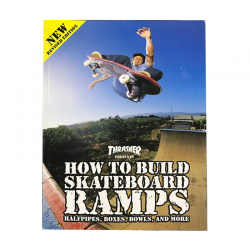 Livro Thrasher Presents How to Build Skateboard