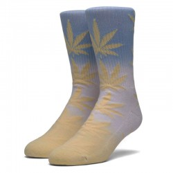 Meias Huf Fade Dye Plantlife Socks - Sunset Yellow