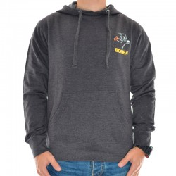 Sweat Hood Powell Peralta Skeleton Skate - Charcoal Heather