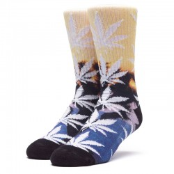 Meias Huf Tranquil Plantlife - Sunset Yellow