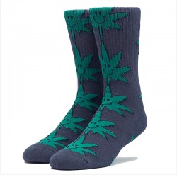 Meias Huf Plantlife Mr. Nice Guy - Preto