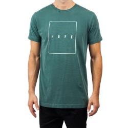 T Shirt NEFF Quad Pigment - Forest