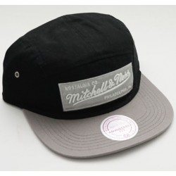 Boné Mitchell&Ness LABEL5PANEL BLACK/GREY