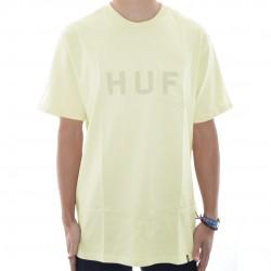 T-Shirt Pocket HUF Original Logo - Birch