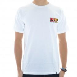 T-Shirt HUF Body Shop - Branco