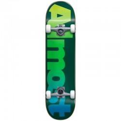 Skate Completo Almost Straight Faded Green - 6.75'' (Micro)