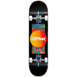 Skate Completo Almost Gradient Flip Black - 7.0'' (Mini)