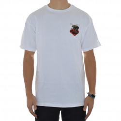 T-Shirt Powell Peralta Cobra - Branco