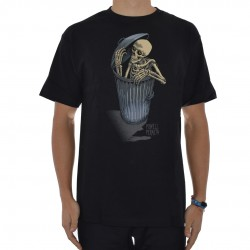 T-Shirt Powell Peralta Garbage Skeleton - Preto