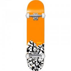 Skate Completo Enjoi Panda Pile Orange - 7.625''