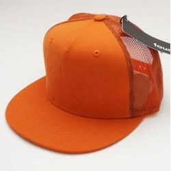 Boné Fourstar EMBOSSED BAR - Orange Meshcap