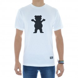 T-Shirt Grizzly Bear - Branco