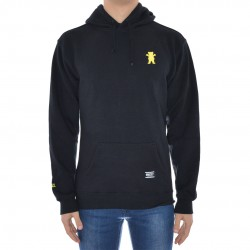 Sweat Hood Grizzly Embroidered - Preto