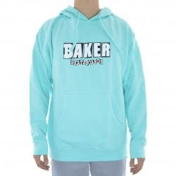 Sweat Hood Baker Brand Logo - Mint