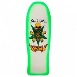 "Tábua Dogtown Suicidal Tendencies Possessed To Skate Neon Green - 10"""