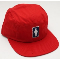 Boné Girl OG Camper 5-Panel Red