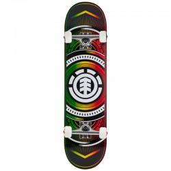 Skate Completo Element Hatched Rasta - 8.0''