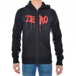 Sweat Hood Zip Zero Nail Eye - Preto