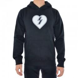 Sweat Hood Mystery Heart - Preto