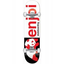 Skate Completo Enjoi Half and Half Black/Red - 8.0''