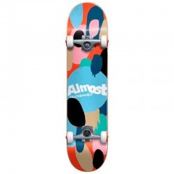 Skate Completo Almost Spotted Youth Red - 7.0'' (Mini)