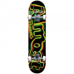 Skate Completo Almost Neon Rasta - 8.0''