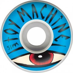 Rodas Toy Machine Sect Eye Blue 51mm