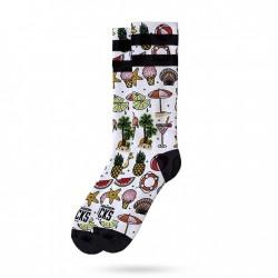 Meias American Socks Coco Logo - Mid High