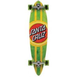 "Longboard Santa Cruz Classic Dot Pintail 39"" x 9.58"""