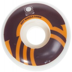 Rodas Jart Logo Brown - 54mm