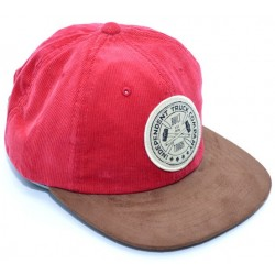 Boné Independent Anvil 6 panel - Ruby Red/Black