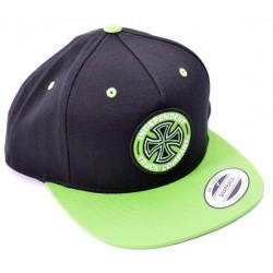 Boné Independent Colored BC Black Green