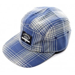 Boné Fourstar Acid Plaid Hat Navy