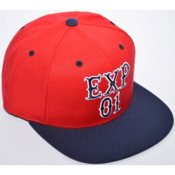 Boné Expedition Stacked Red Navy