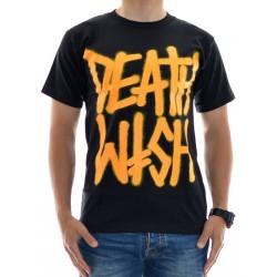 T-Shirt Deathwish Death Stack Black Orange